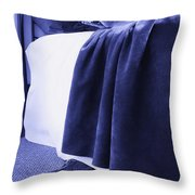 Monster Under My Bed Throw Pillow