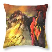 Mont Sinai Throw Pillow