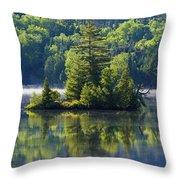 Mont Tremblant National Park Throw Pillow