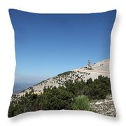 Mont Ventoux Throw Pillow