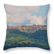 Montalcino Throw Pillow by Marilyn Dunlap