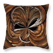 Montana Barn Orb Throw Pillow