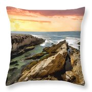 Montana De Oro Shore II Throw Pillow