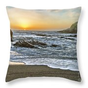 Montana De Oro Shore IIi Throw Pillow