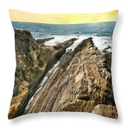 Montana De Oro Shore Throw Pillow