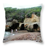 Montana De Oro Summer Vacation Throw Pillow