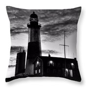 Montauk Point Throw Pillow
