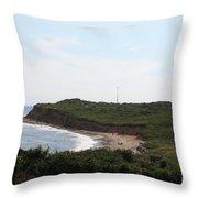 Montauk - The Point Throw Pillow