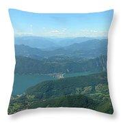 Monte Generoso Svizzera Throw Pillow
