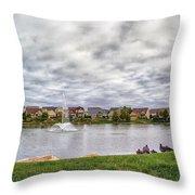 Montecito Subdivision Throw Pillow