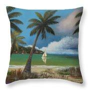 Montego Bay Throw Pillow