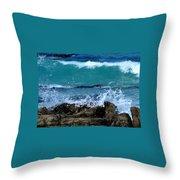 Monterey-3 Throw Pillow