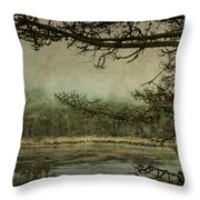 Monterey Bay - The Other Side Throw Pillow