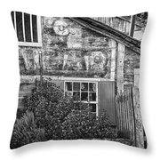 Monterey Historic Building 1 Throw Pillow