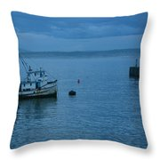 Monterey Tug Throw Pillow