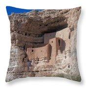Montezuma Castle Arizona Throw Pillow