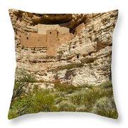 Montezumas Castle 14 Throw Pillow