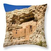 Montezumas Castle 17 Throw Pillow
