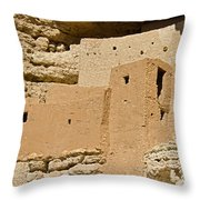 Montezumas Castle 23 Throw Pillow