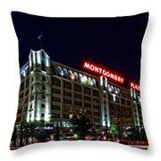 Montgomery Plaza Fort Worth Throw Pillow