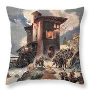 Montlue Seizes The Moulins Dauriol Throw Pillow