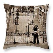 Montmartre Moment Throw Pillow
