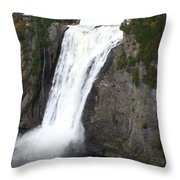 Montmorency Falls - Canada Throw Pillow