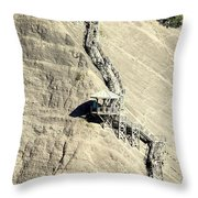 Montmorency Falls Stairway Throw Pillow