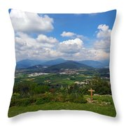 Montorfano. Cologne Throw Pillow