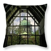 Montreal The Old Through The New Throw Pillow