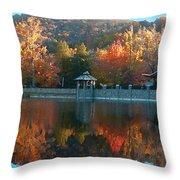 Montreat Autumn Throw Pillow