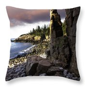 Monument Cove Sunrise 4984 Throw Pillow