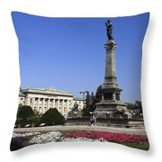 Monument Of Freedom Throw Pillow