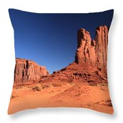 Monument Spines Throw Pillow