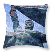 Monument To The People 0131 - 2 Sl Throw Pillow
