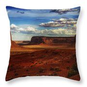 Monument Valley 8 Throw Pillow