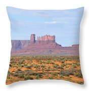 Monument Valley Area Throw Pillow