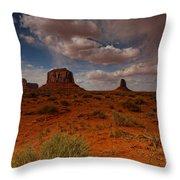 Monument Valley Desert Throw Pillow