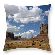 Monument Valley Navajo Tribal Park Throw Pillow