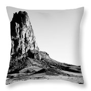 Monument Valley Promontory Throw Pillow