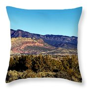 Monument Valley Region-arizona Throw Pillow