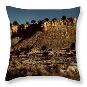 Monument Valley Region-arizona V3 Throw Pillow