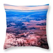 Monument Valley To Be Seen Only If You Were A Bird Throw Pillow