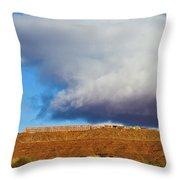 Monument Valley Ut 2 Throw Pillow