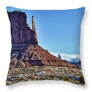 Monument Valley Ut 3 Throw Pillow