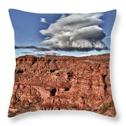 Monument Valley Ut 5 Throw Pillow