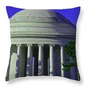 Monumental Beauties Throw Pillow