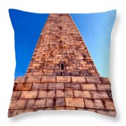 Monumental Heights Throw Pillow