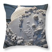 Monumental Urn -- By Clodion? Throw Pillow