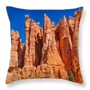 Monuments Of Time Throw Pillow